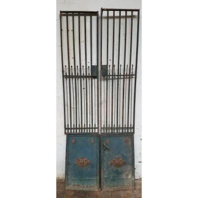 Iron Shop Doors