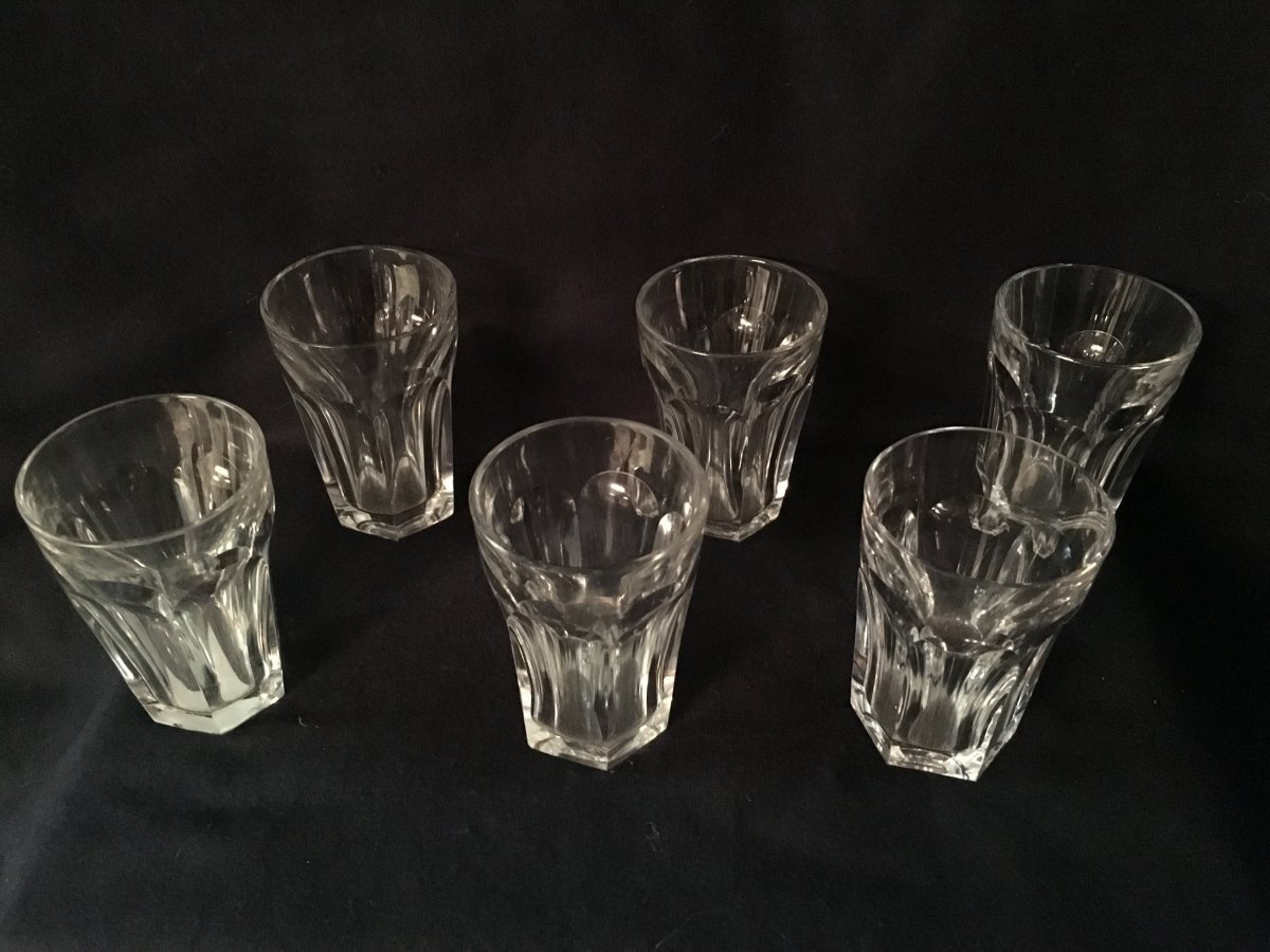 Service à Digestif Ou à Liqueur En Cristal De  Baccarat Modèle Harcourt -photo-1