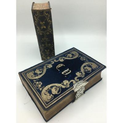 Livres ,La Bible Et L'Ancien Testament Par Martin Luther, 19eme