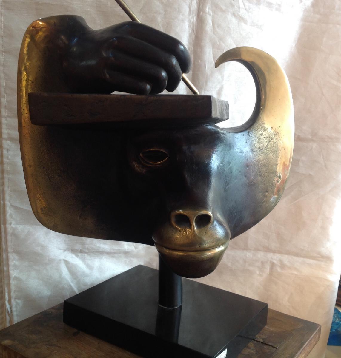 "Etienne - Très Grand Bronze ""thot"" 1984"