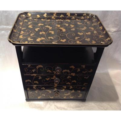 Lacquer Cabinet Japan 19th Meiji