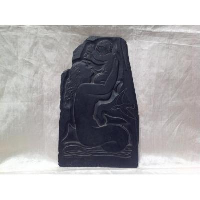 G. Privat - Sculpture Sur Ardoise