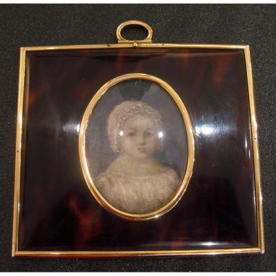 Miroir De Sac Fin XIXème Siècle