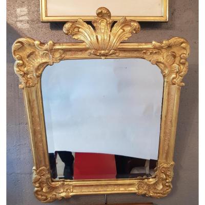 Miroir en Bois Doré, Début XIXème Siècle