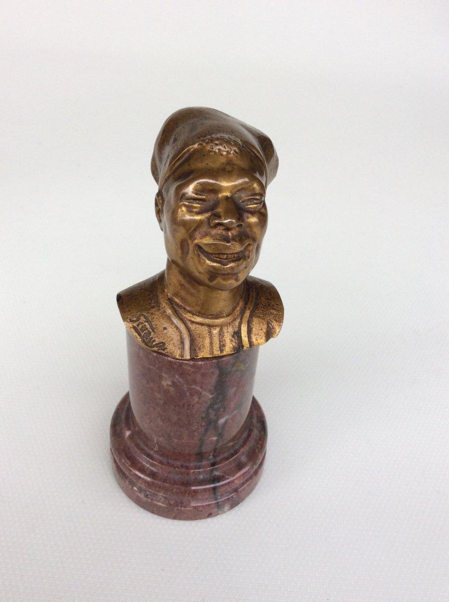 Sculpture En Bronze D'eugène Girault (1886-1944)