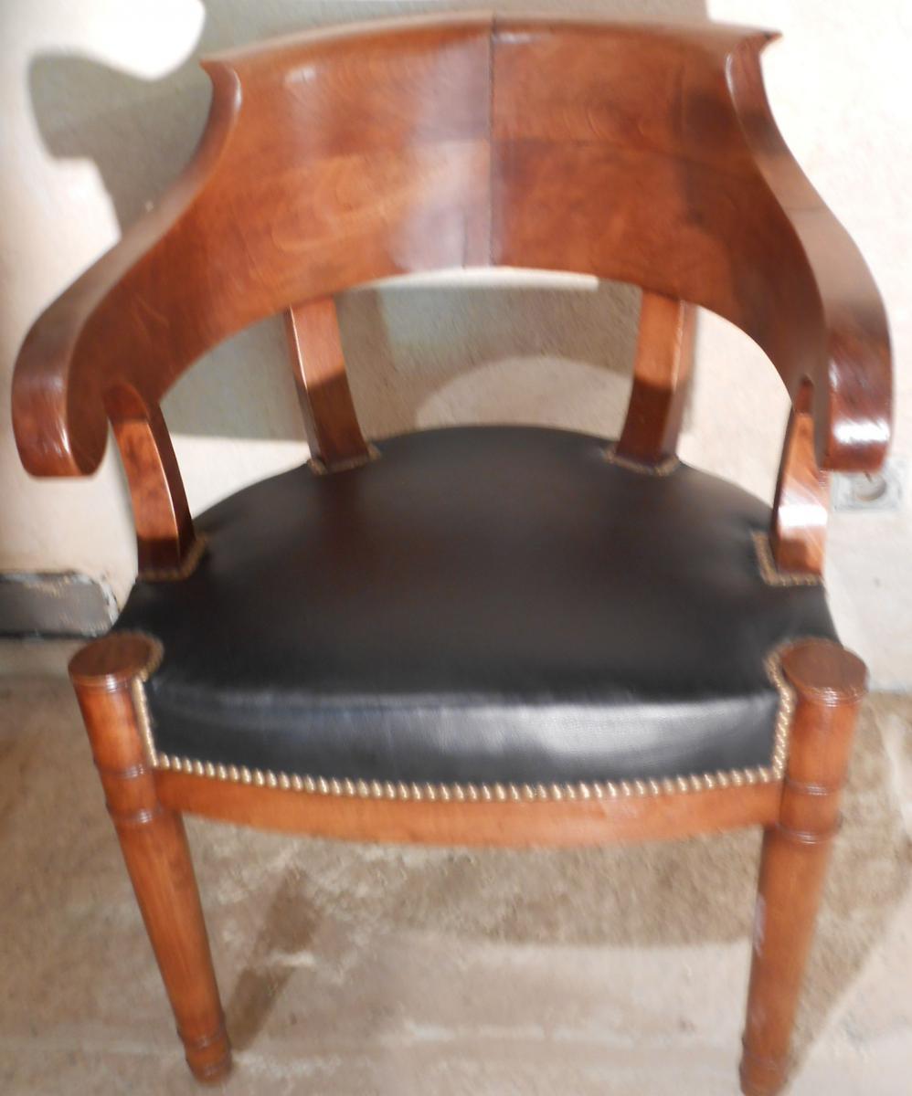 Fauteuil de bureau d 39 poque restauration fauteuils - Cours de restauration de fauteuil ...