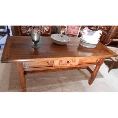 Table Rectangulaire d'époque XVIIIème
