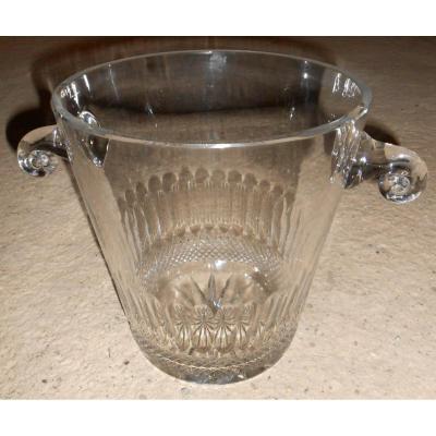 "Seau à Champagne ""Cristal De Bohême"""