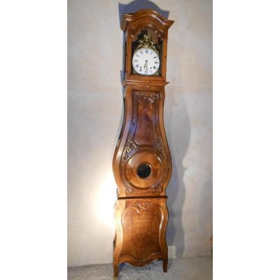 Horloge De Parquet d'époque XVIIIème