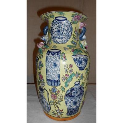 Vase Chine XIXème
