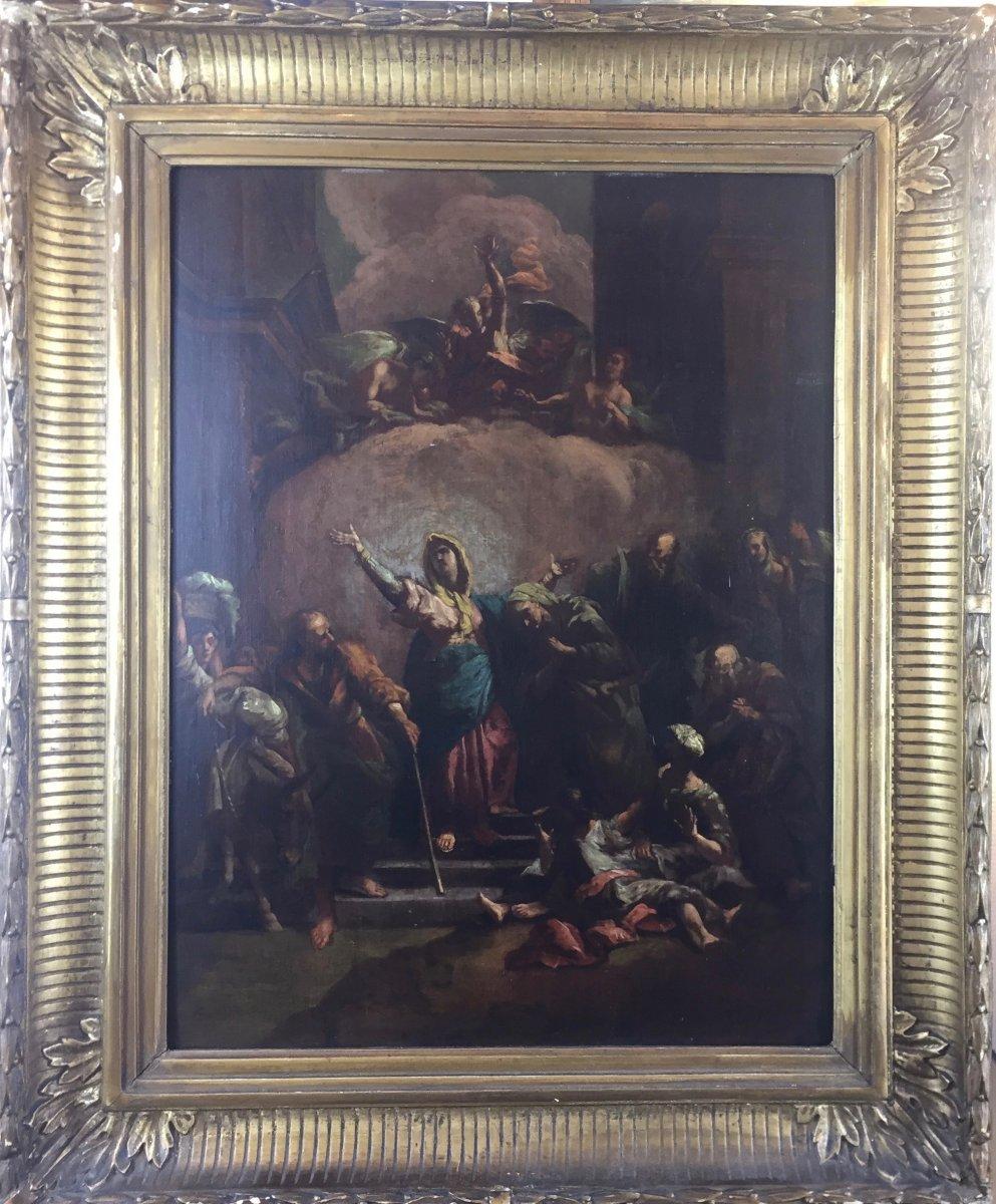 After A Composition Of Jean-baptiste Jouvenet, The Visitation