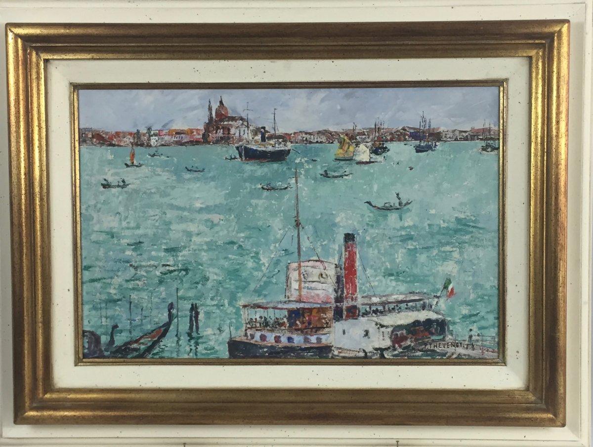 Pierre Thevenet (1870-1937), Venise , 28-9-1928