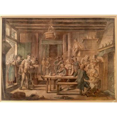 Scène De Taverne