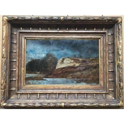 Fritz Van De Kerckhove (1863-1873) Said The Child Of Bruges - Landscape