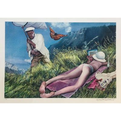 Guy Peellaert (1934-2008)  Nabukov Giclee Print  1/5 ex