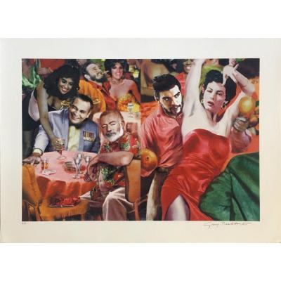 Guy Peellaert (1934-2008)   Giclee Print 4/5 ex
