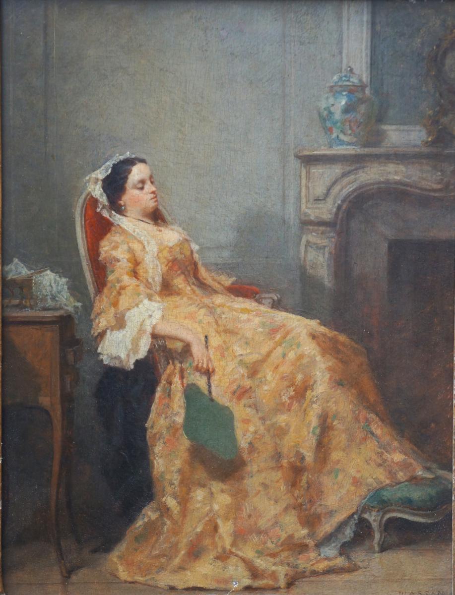 Plassan Antoine Emile (1817-1903) Les élégantes