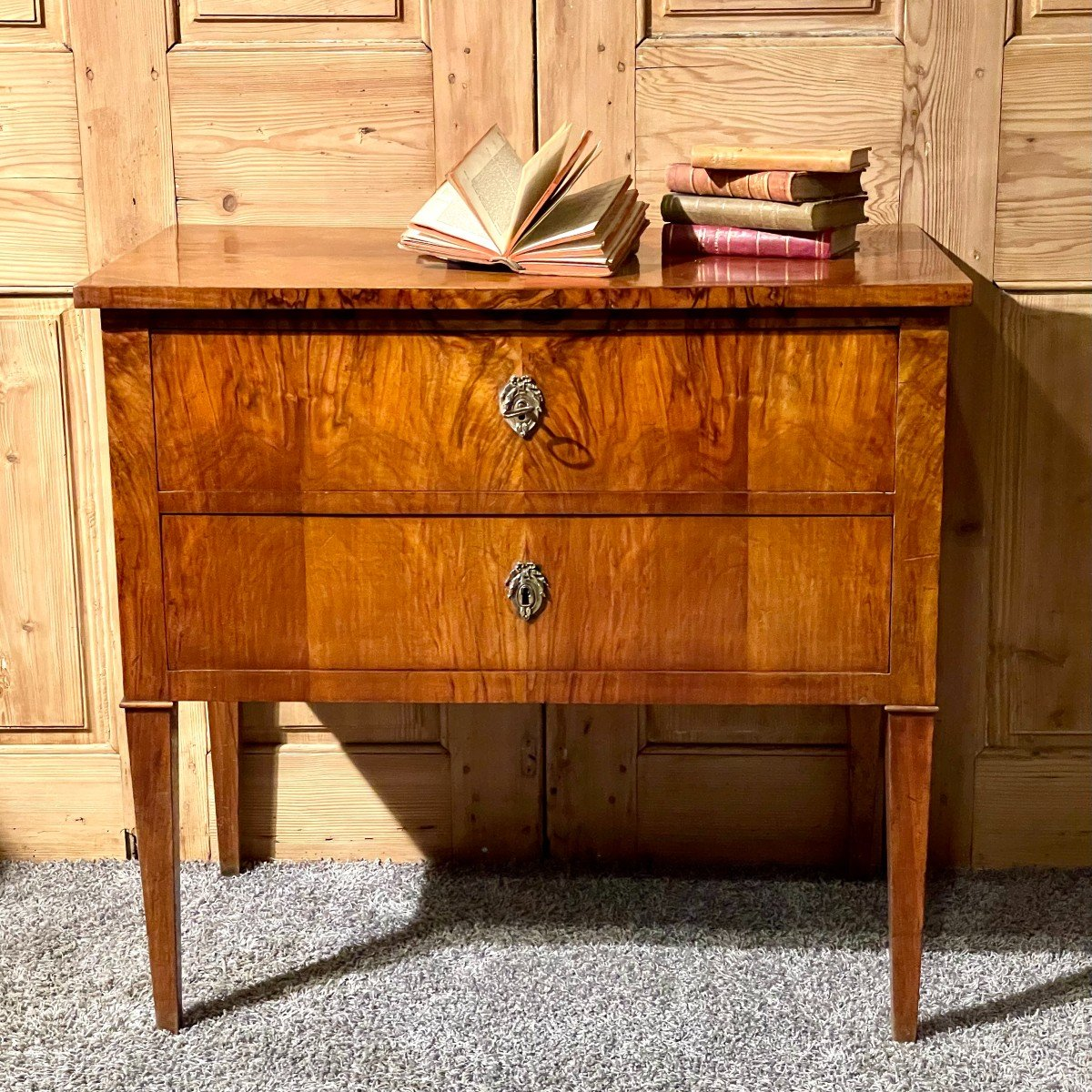 Commode Directoire 2 Tiroirs Alsace