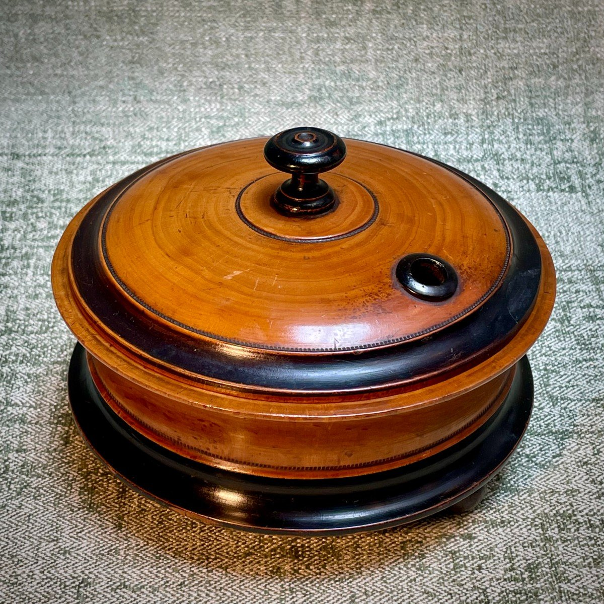 petite roulette de table 19ème-photo-1
