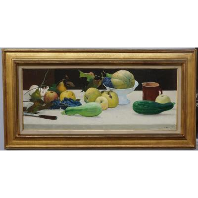 Nature Morte De Jules Alfred Giess