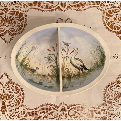 Birth Pond Decor Stork Alsace Villeroy & Boch Wallerfangen
