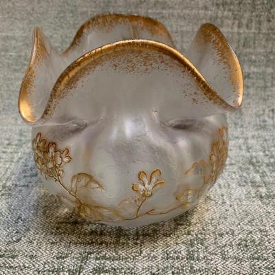 Vase verrerie de Montjoye St Denis