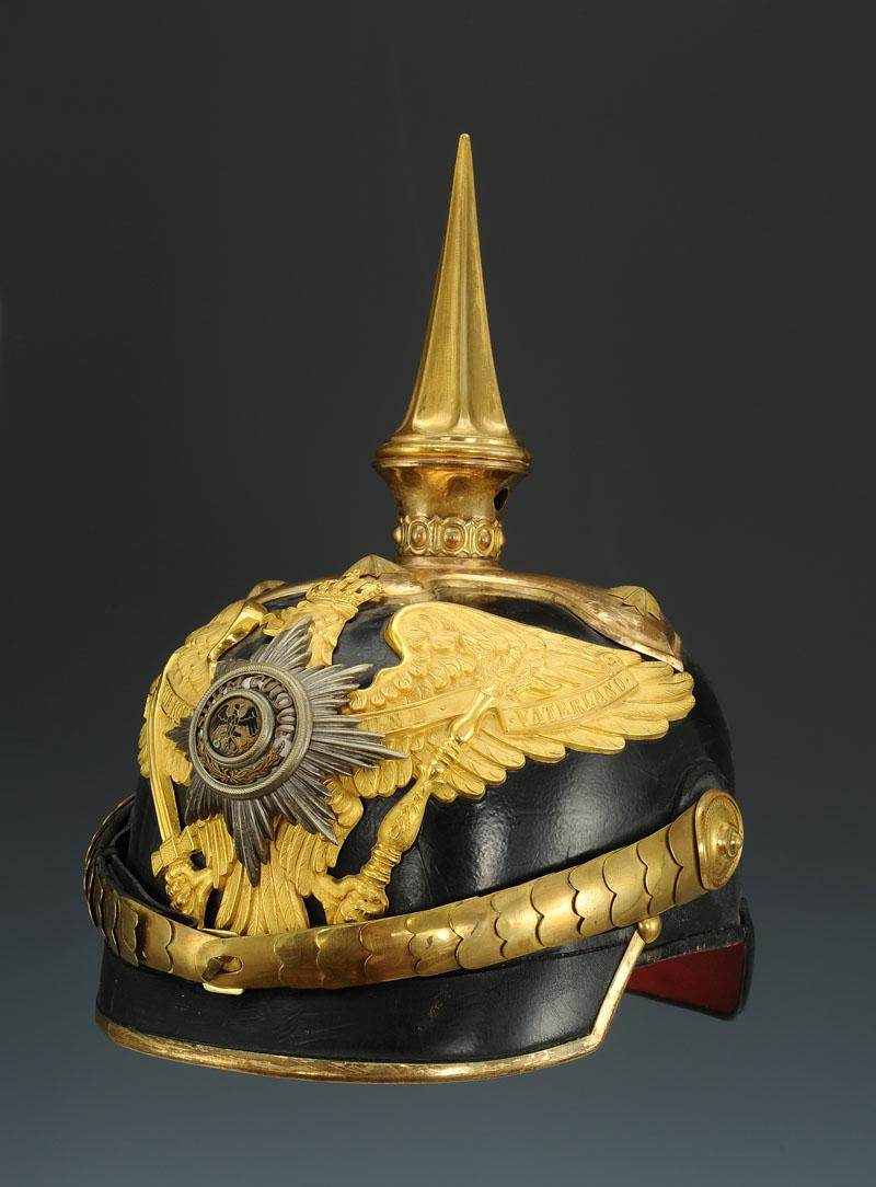 Prussian General Head Helmet Or An Officer Of The War Ministry-photo-2