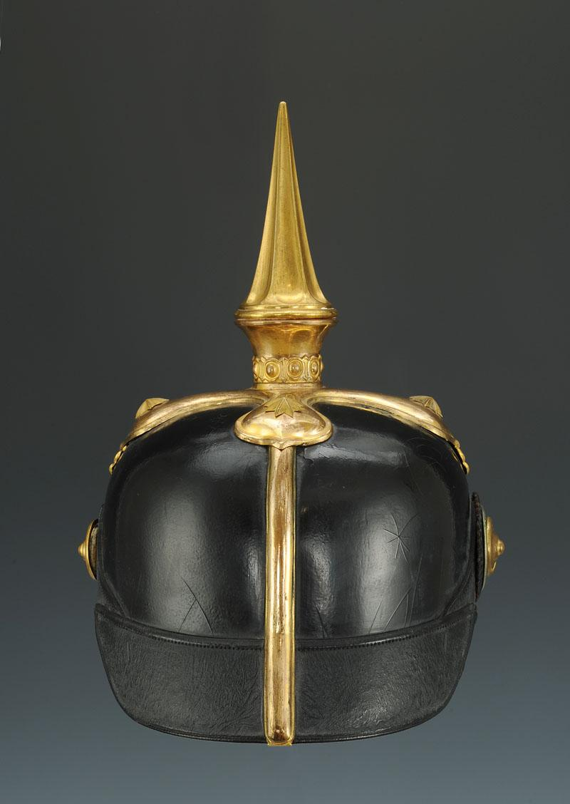 Prussian General Head Helmet Or An Officer Of The War Ministry-photo-3