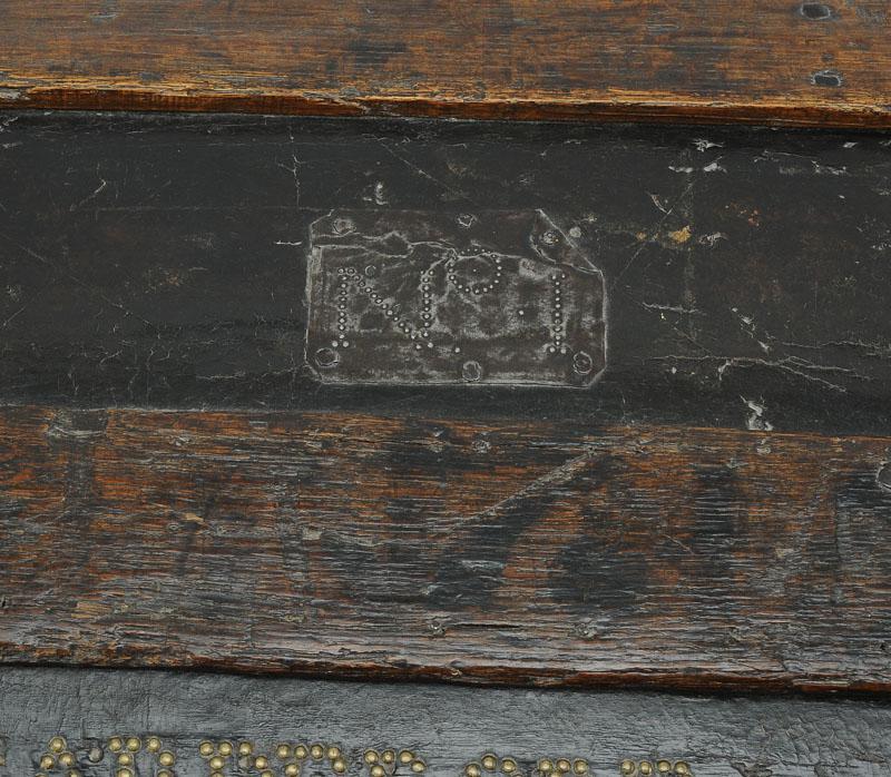 Malle De Transport De La Garde-robe De Sas Monseigneur Louis V Joseph De Bourbon-condÉ-photo-4