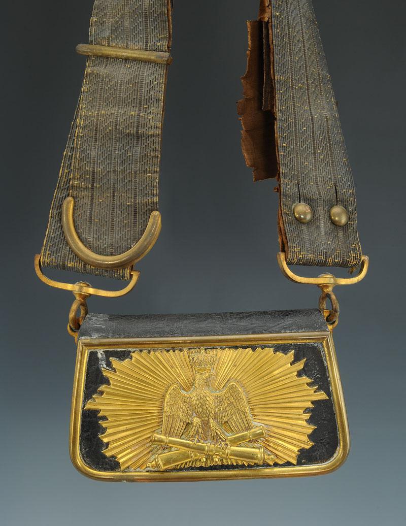 Giberne D'officier D'artillerie De La Garde Imperiale ,second Empire.