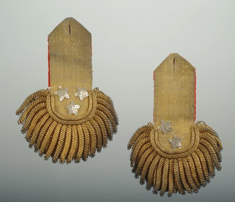 Pair Of Lieutenant-general's Epaulettes, 1786-1791, Former Monarchy - Revolution.-photo-2