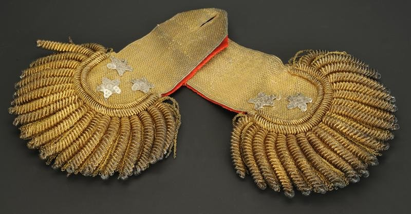 Pair Of Lieutenant-general's Epaulettes, 1786-1791, Former Monarchy - Revolution.