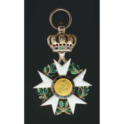 Croix De Chevalier De La Legion d'Honneur Third Type, 1806-1808 Modified 1814 Restoration
