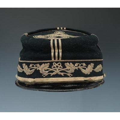 Senior Paymaster Officer's Kepi To The Armies Having Belonged To The Future Payer Genera