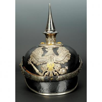 Zahlmeister Officer's Pointed Helmet, Paying Officer, Model 1895