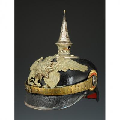 Helmet At The Tip Of A One Year Enlisted Officer On The 1st Or 2nd Battalion Of The 109th Grenadiers Regiment
