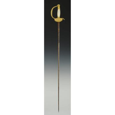 Sword Of Senior Officer Of The Commissioners Of Wars, Restoration.