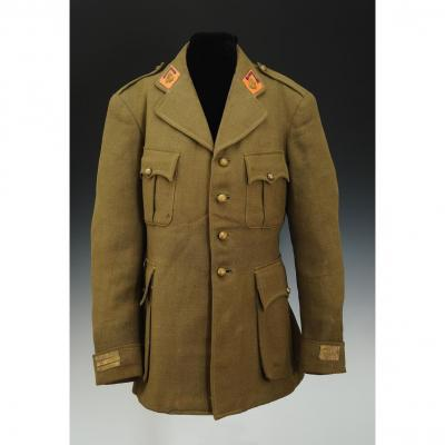 Tunic Of A Colonial Artillery Captain, Model 1939, Third Republic