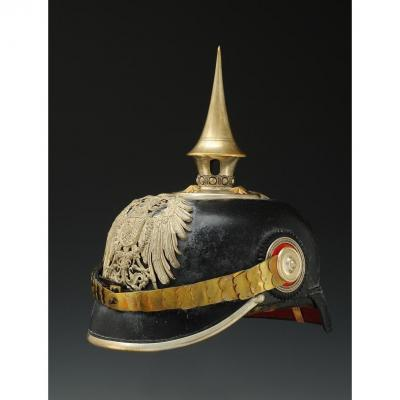 Officer Helmet Of The Only Engineering Battalion Of The German Expeditionary Corps In East Asia