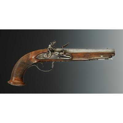 Pistolet De Gendarmes De La Maison Militaire Du Roi, 1814-1816, Restauration.