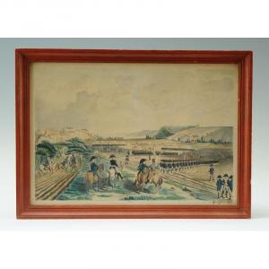 Original Watercolor Dated 1807