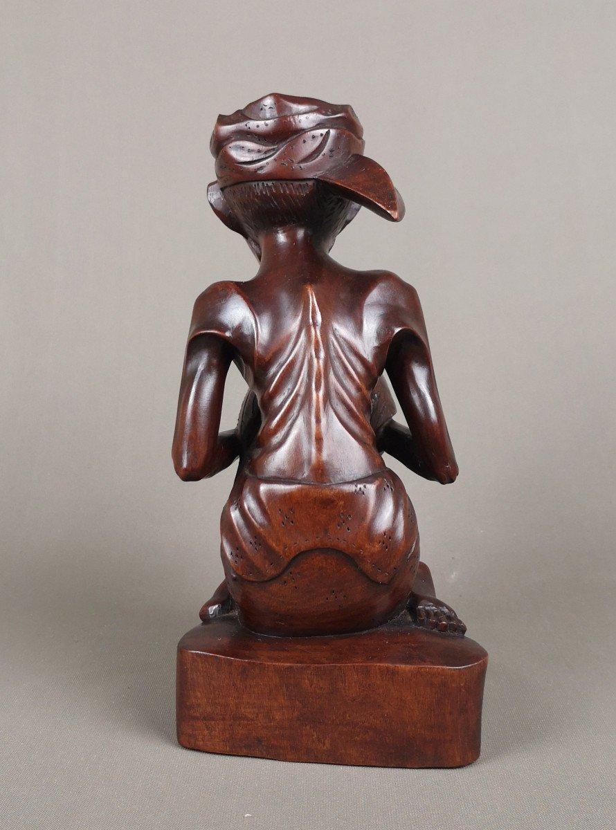 Sculpture Sur Bois, Indonesie, Bali Vers 1930-1940-photo-4