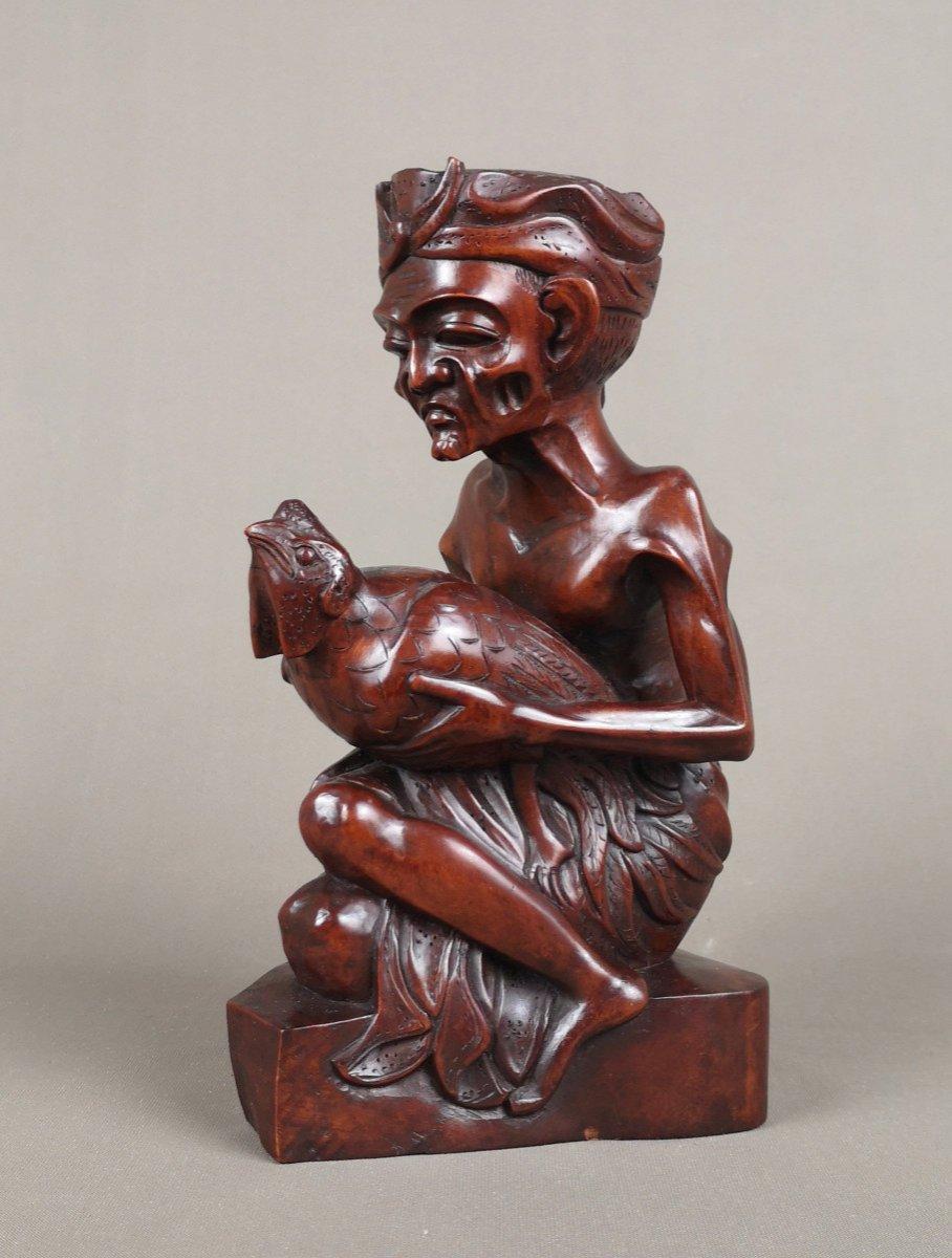 Sculpture Sur Bois, Indonesie, Bali Vers 1930-1940