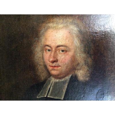 Portrait D'homme 18 ème Siècle Attribué à Robert Gardelle Suisse