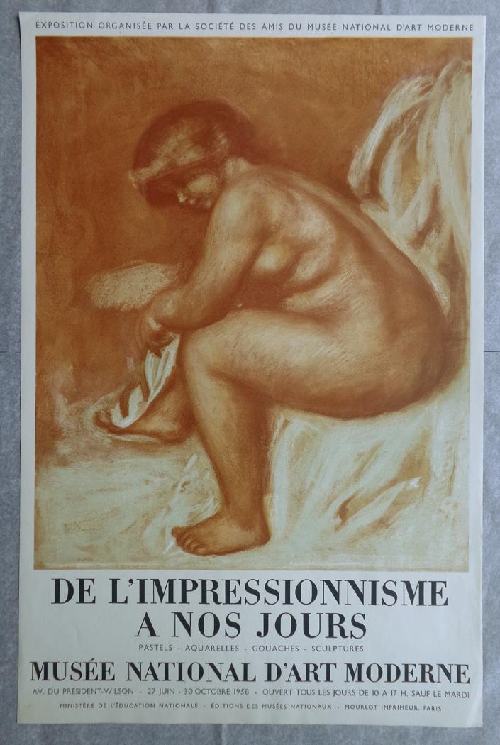Renoir De l'Impressionnisme A Nos Jours 1958 Mourlot