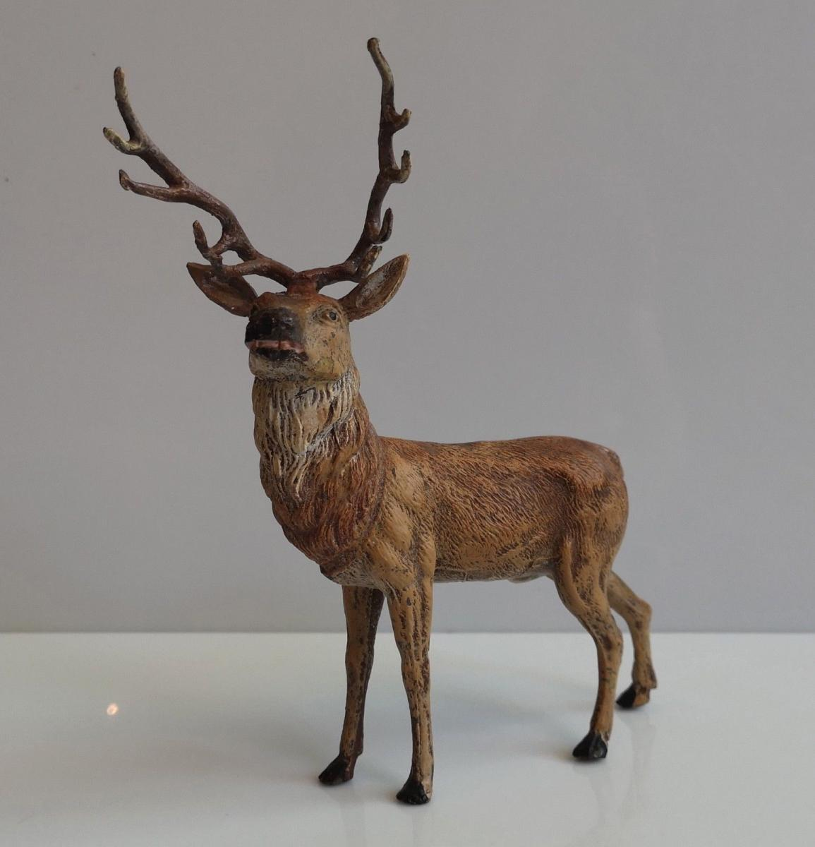 Grand Deer In Nuremberg - 19th Time - 19 X 15 Cm