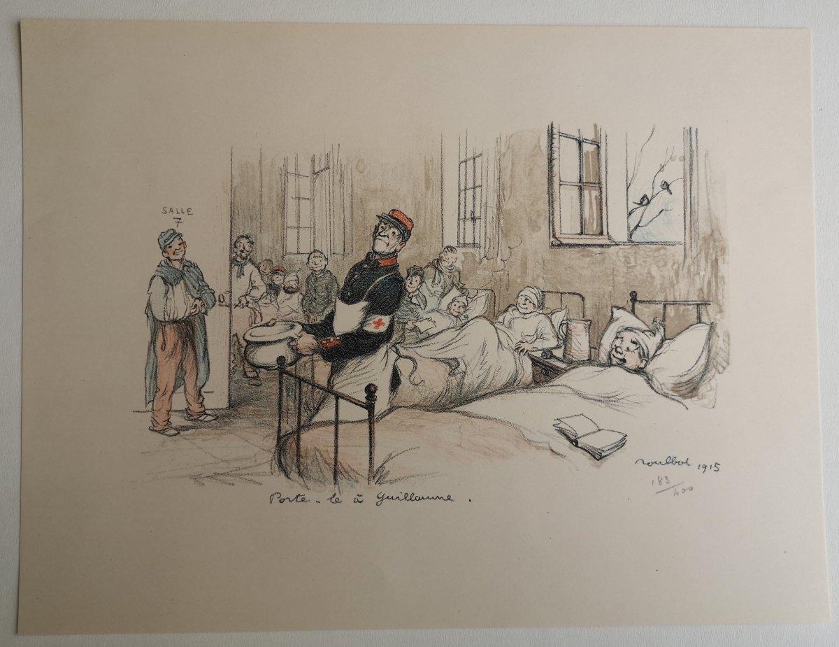 Francisque Poulbot 1879-1946 Lithographie