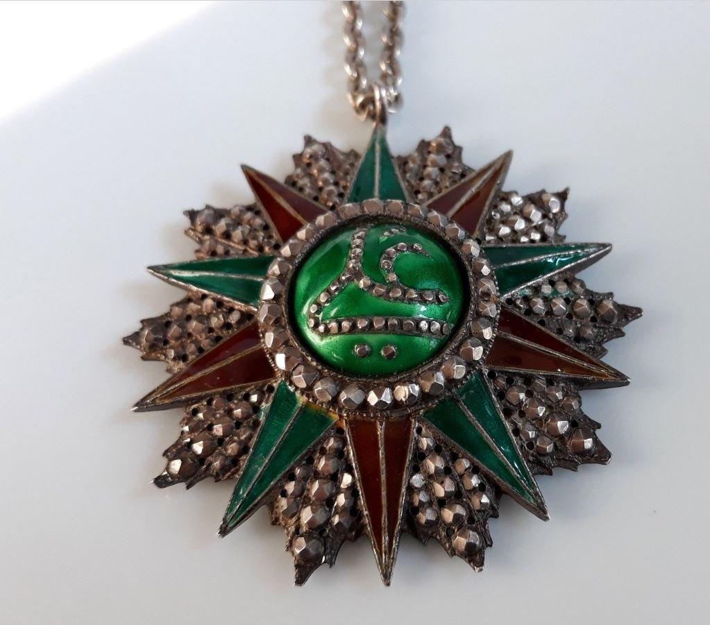 Médaille Offerte Par Bey De Tunis Ordre Tunisien Du Nichan Iftikhar Ali Bey-photo-2