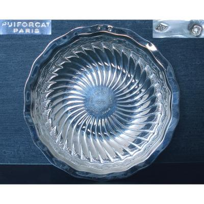 Price From Racing Trophy Club De France Silver Minerva Goldsmith Puiforcat - 117 Gr