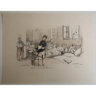 Francisque Poulbot 1879-1946 Lithographie